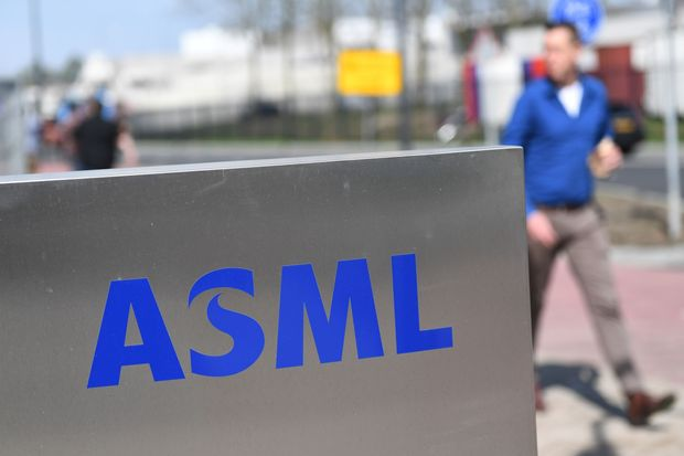Dow Jones Newswires: ASML sticks to 2020 outlook as net profit rises