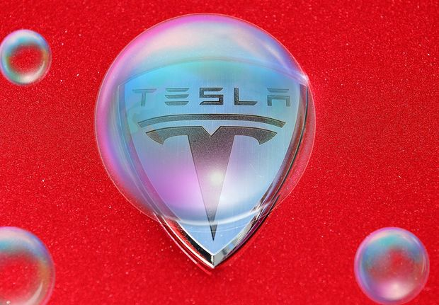 Tesla and other 'pods of excess' will ultimately lead to the popping of today's bubble, investor warns