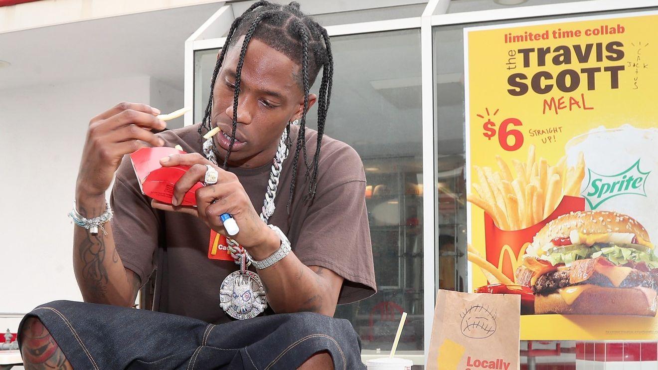 McDonald's September sales get a boost from rapper Travis Scott