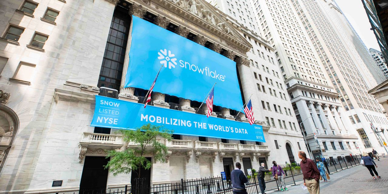 Snowflake IPO surge makes it the priciest tech stock by a mile