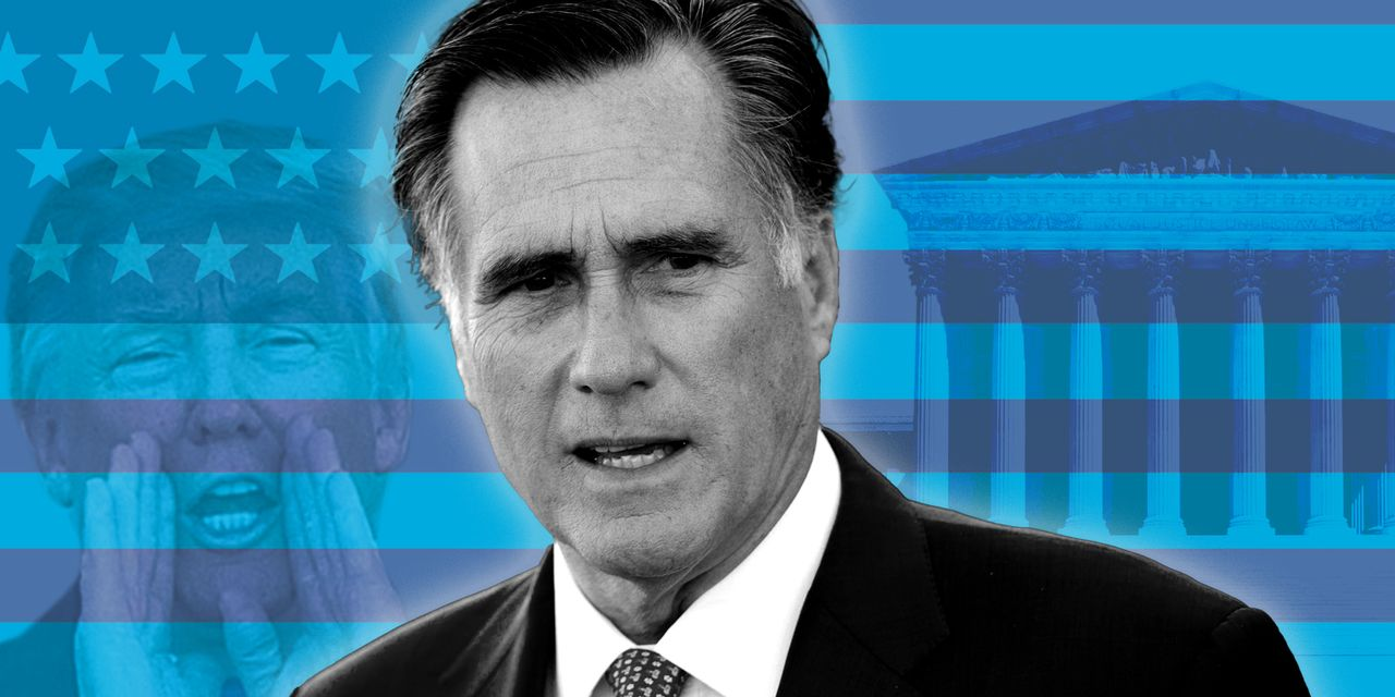 'The only Republican with morals is a former Republican': Mitt Romney gets full Twitter treatment