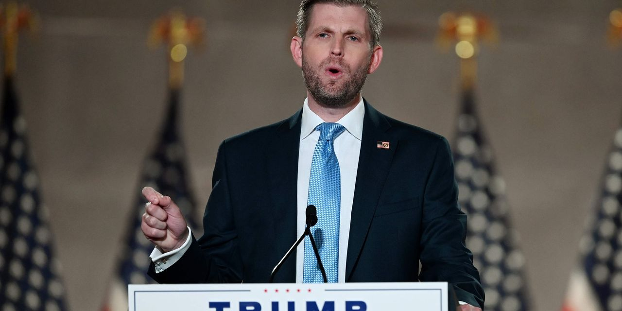 Judge says Eric Trump must testify in New York probe prior to election