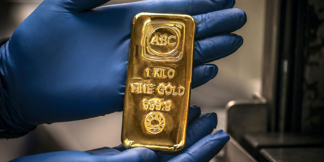 Gold prices see Friday's quiet action as a strong dollar, rising yields moving trends