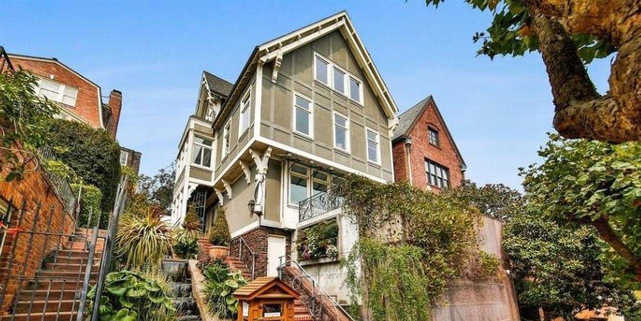 Take a look inside billionaire Tom Steyer's $11 million eco-friendly San Francisco home
