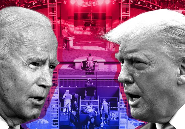 Ahead Of Tonight S Debate Biden Leads Trump By 3 6 Points In Swing State Polls Marketwatch