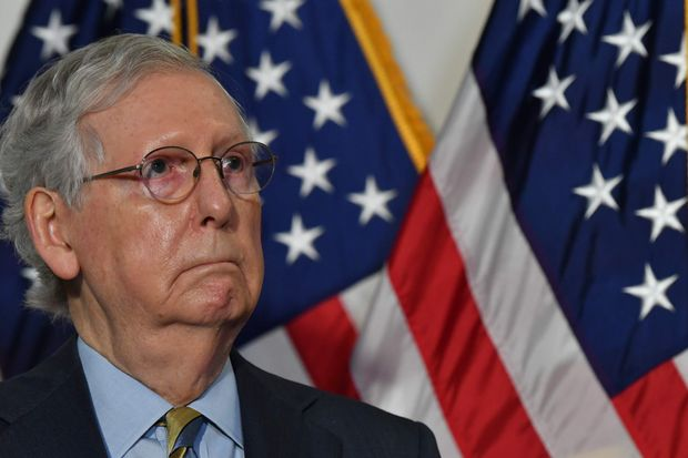 By Saying No To More Stimulus Mitch Mcconnell Is Already Trying To Make Joe Biden S Life Miserable Marketwatch