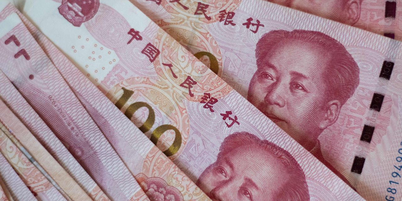 Image of article 'Why China's yuan just hit a 17-month high versus the U.S. dollar'