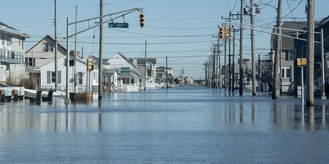 Within 20 years, rising sea levels will hit nearly every coastal county — and their bonds