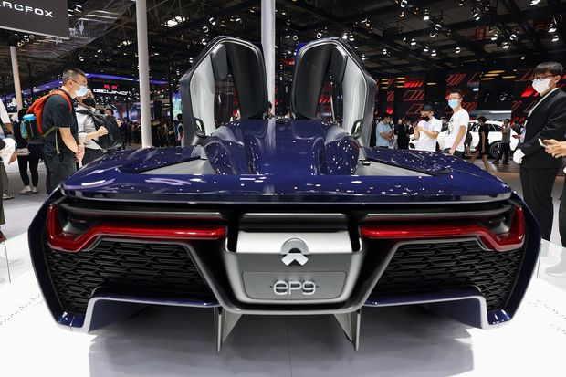 Nio Soars To Record After Jpmorgan Selects It As Long Term Winner In China S Ev Market Marketwatch