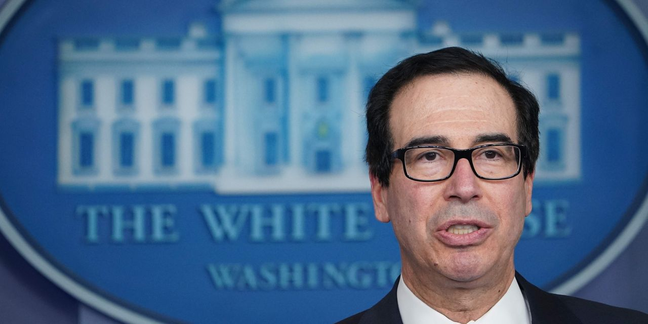 Democrats say Treasury Department guidance led banks to prioritize existing customers for federal paycheck-protection loans