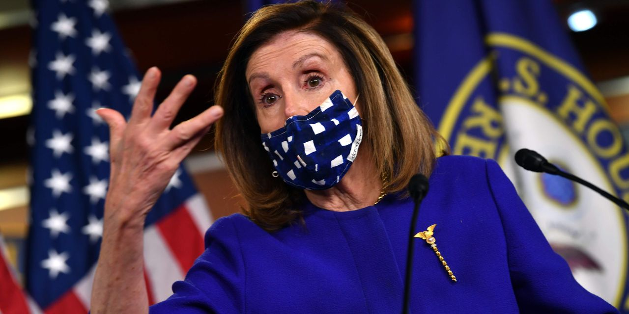 Pelosi reports progress in still-stalemated stimulus talks