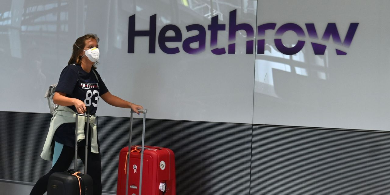 Heathrow offers one-hour COVID-19 tests — they're not cheap