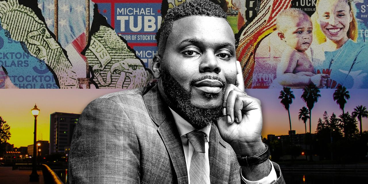 'Every recession, there's a massive bailout given to corporations and CEOs': Stockton Mayor Michael Tubbs says basic income payments turn lives around