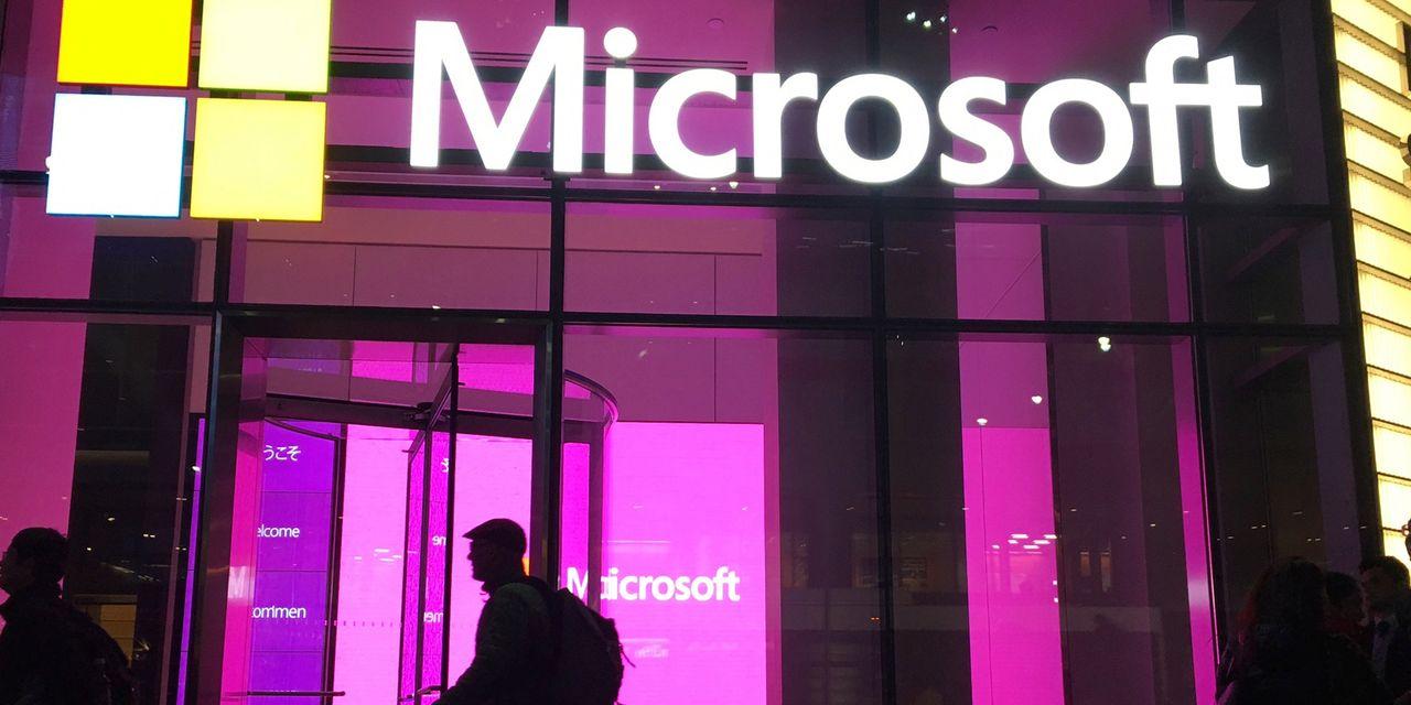 Microsoft hits $40 billion in quarterly sales for...