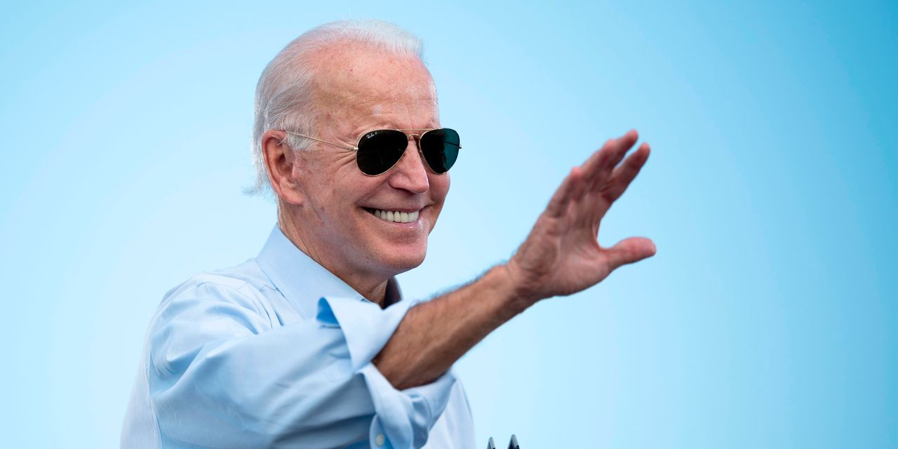 Markets are acting as if the polls are tilted to Biden, Goldman Sachs analysts say