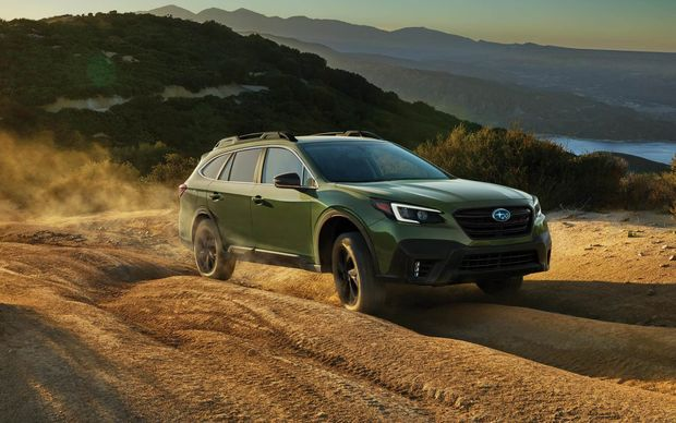 How do the Subaru Outback and the Volvo V60 Cross Country compare? 3