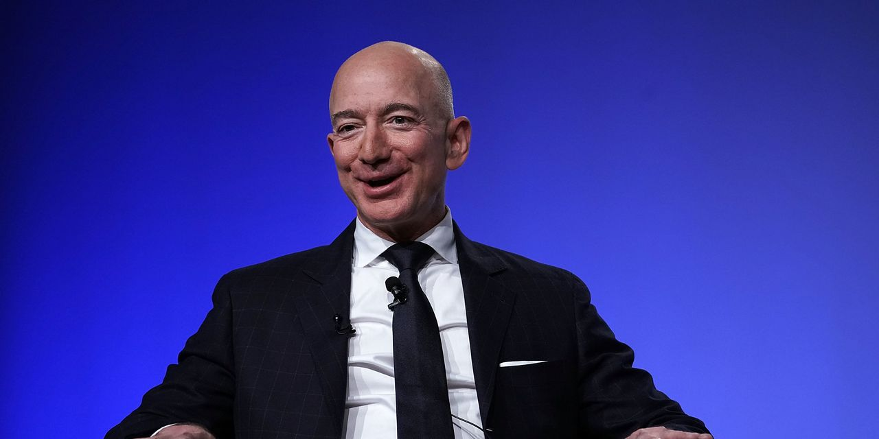 Jeff Bezos sold nearly $5 billion in Amazon shares this week