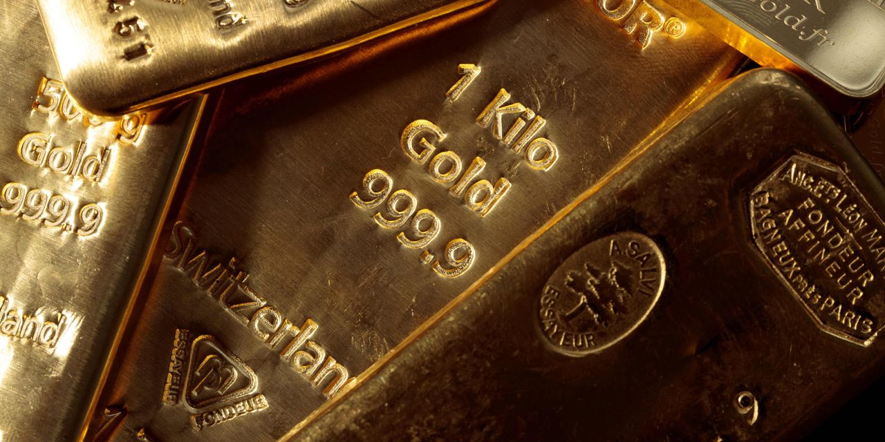 Where gold stands a year after hitting a record-high price