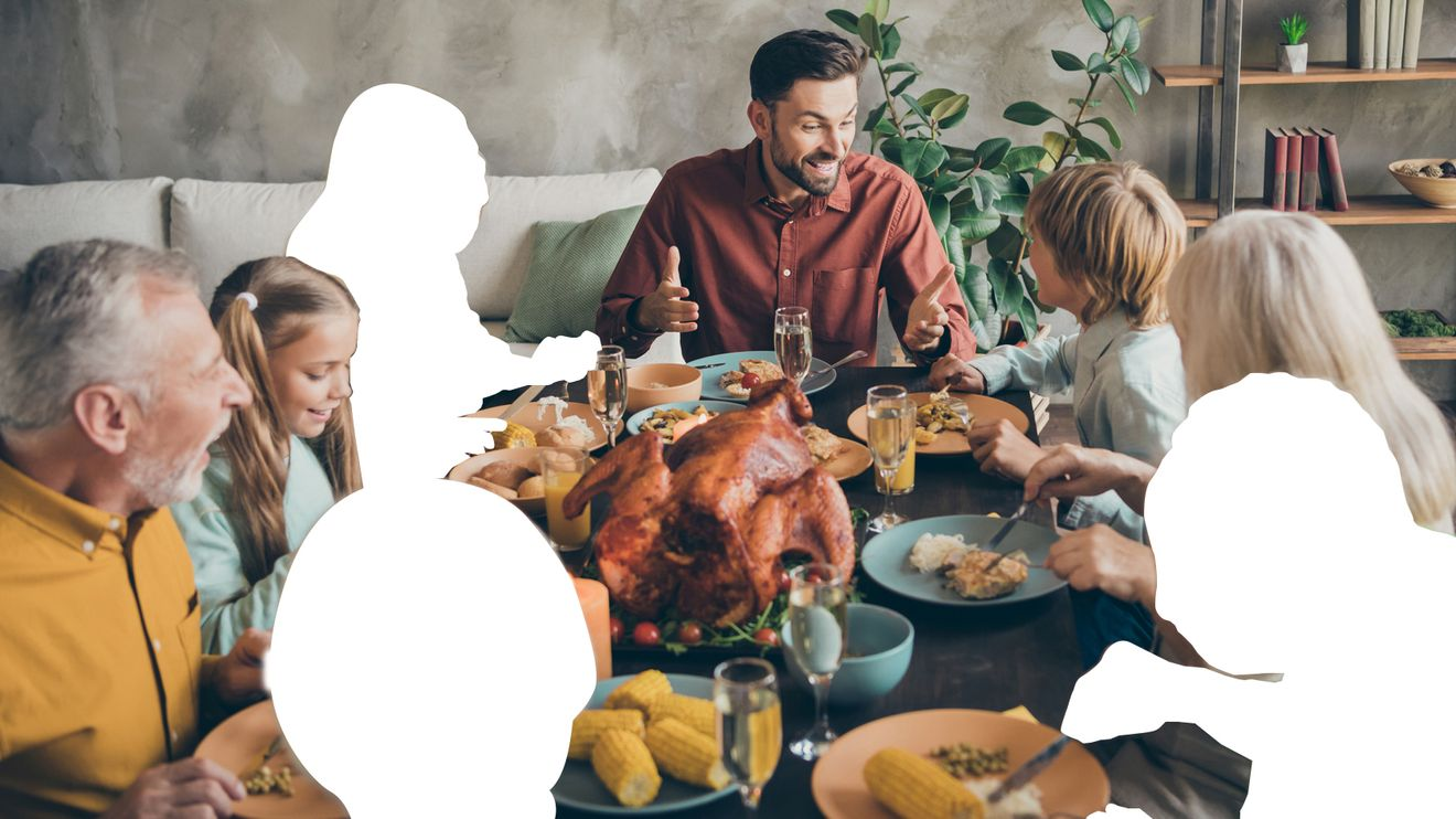 Most Americans will ignore the CDC's advice and host non-household members for Thanksgiving