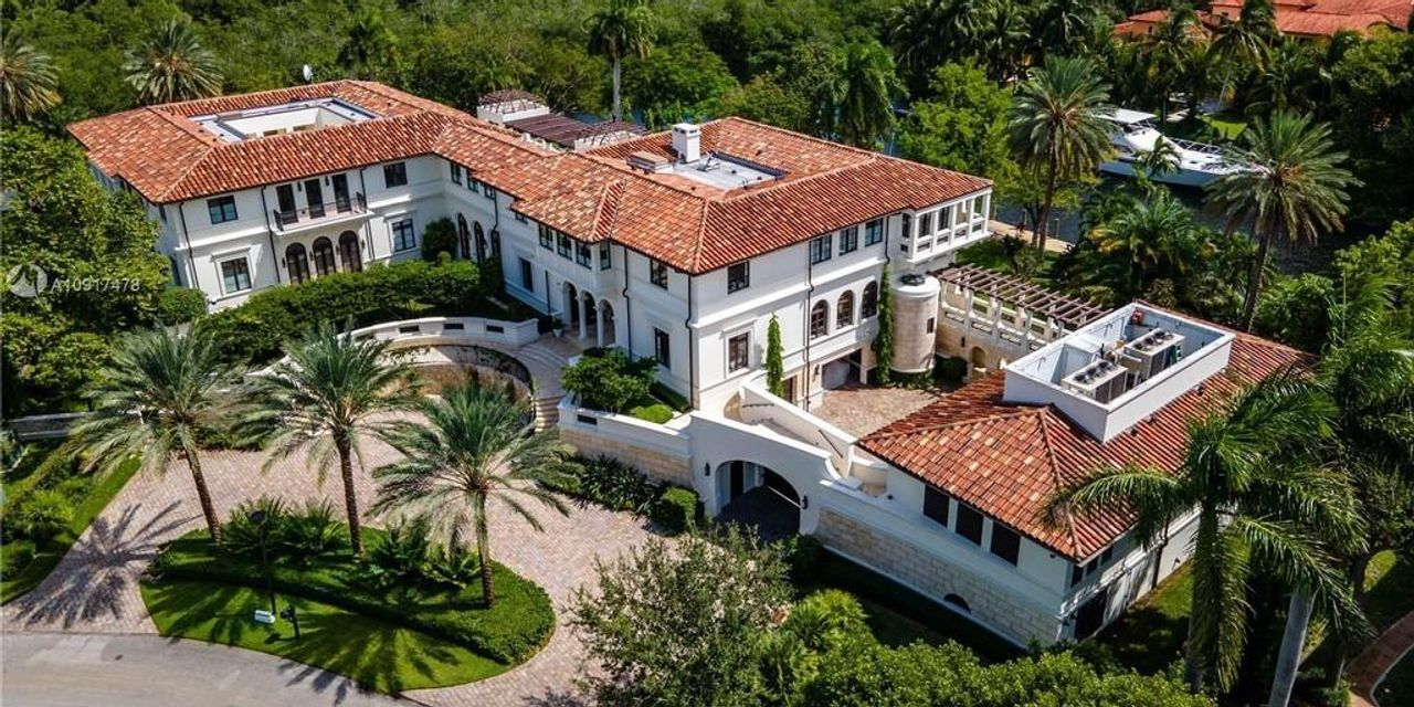 Marc Anthony is selling his waterfront estate in Coral Gables for $27 million