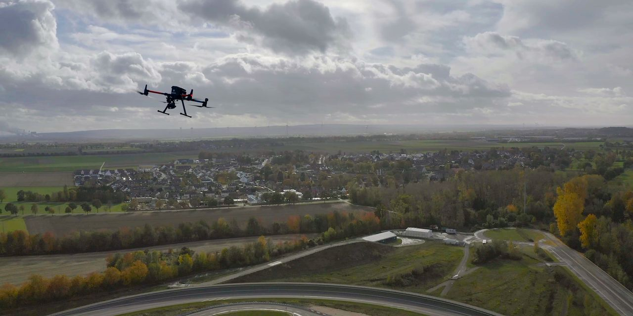 New drone technology uses data from mobile networks to chart flight paths. Here are the two companies behind it