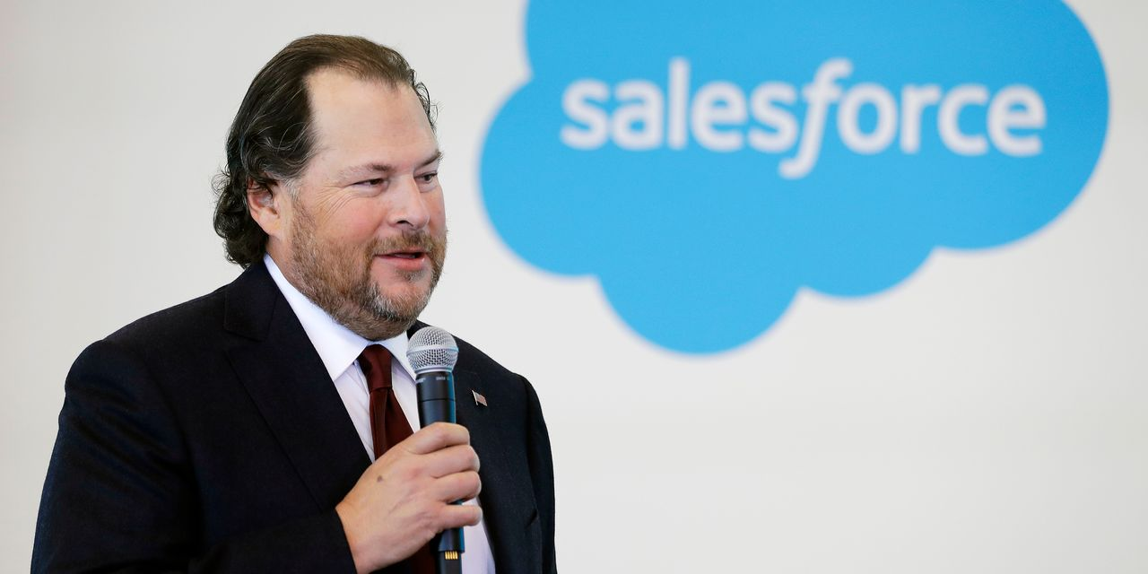 Salesforce earnings live up to Benioff's $20-billion goal, so now it's on to the next one