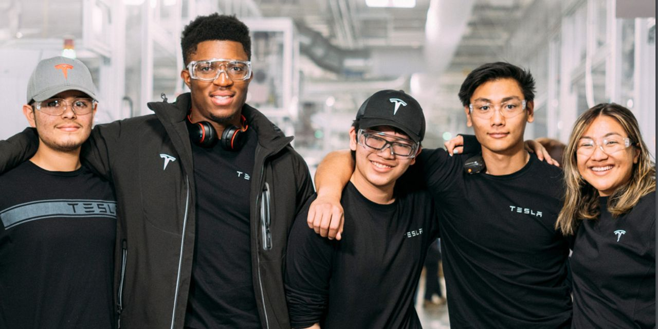 Tesla boasts a 'majority minority' workforce but leadership is predominantly white and male