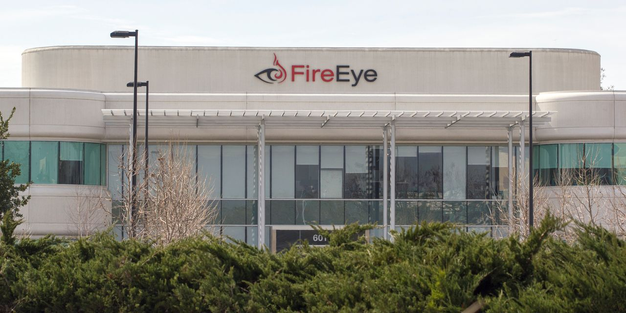Image of article 'FireEye stock drops as cybersecurity company reveals it was hacked'