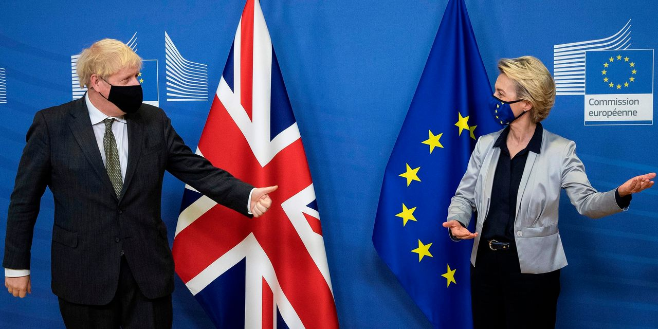 U.K. and European Union agree on historic post-Brexit trade deal