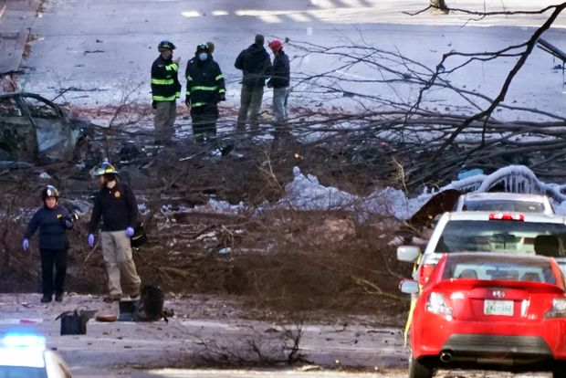 Nashville Explosion May Have Targeted AT&T Building