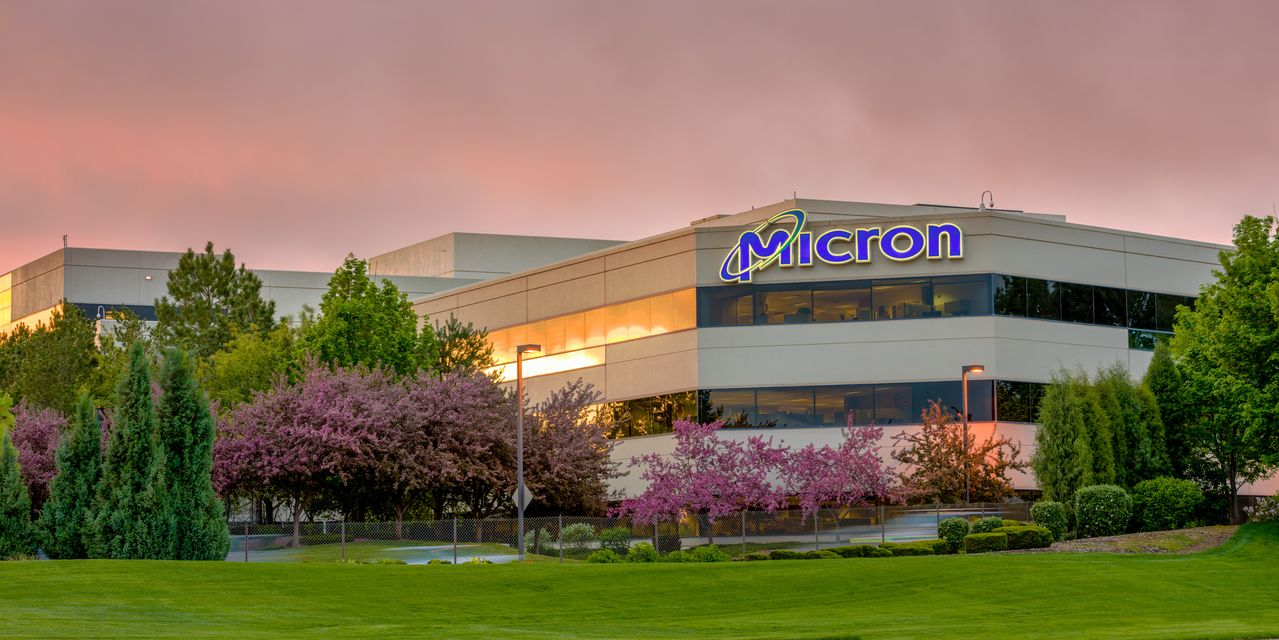 Micron earnings forecast disappoints amid concerns about memory-chip prices, stock tumbles