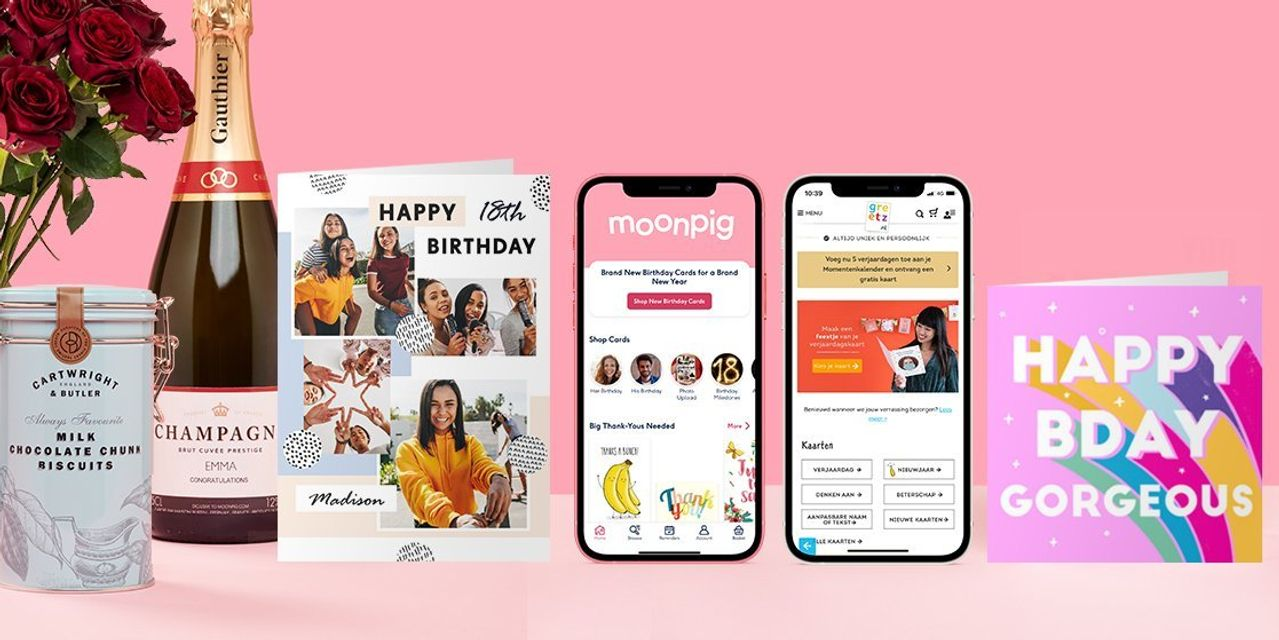 Image of article 'Boom in online sales during pandemic propels personalized-card company Moonpig to $1.4 billion listing'