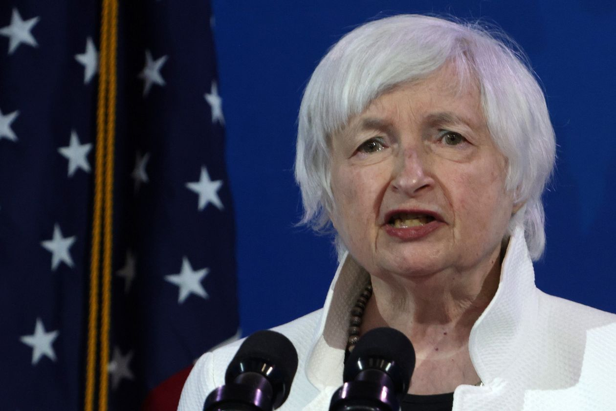 Yellen Says Smartest Thing to Do Now is 'Act Big' to Help Struggling Americans