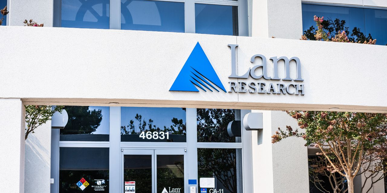 Lam Research tops $4 billion in quarterly sales for first time amid semiconductor shortage