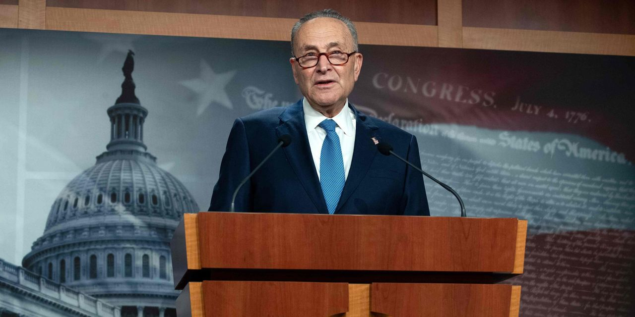 Schumer says budget vote possible next week, starting Capitol Hill economic stimulus push