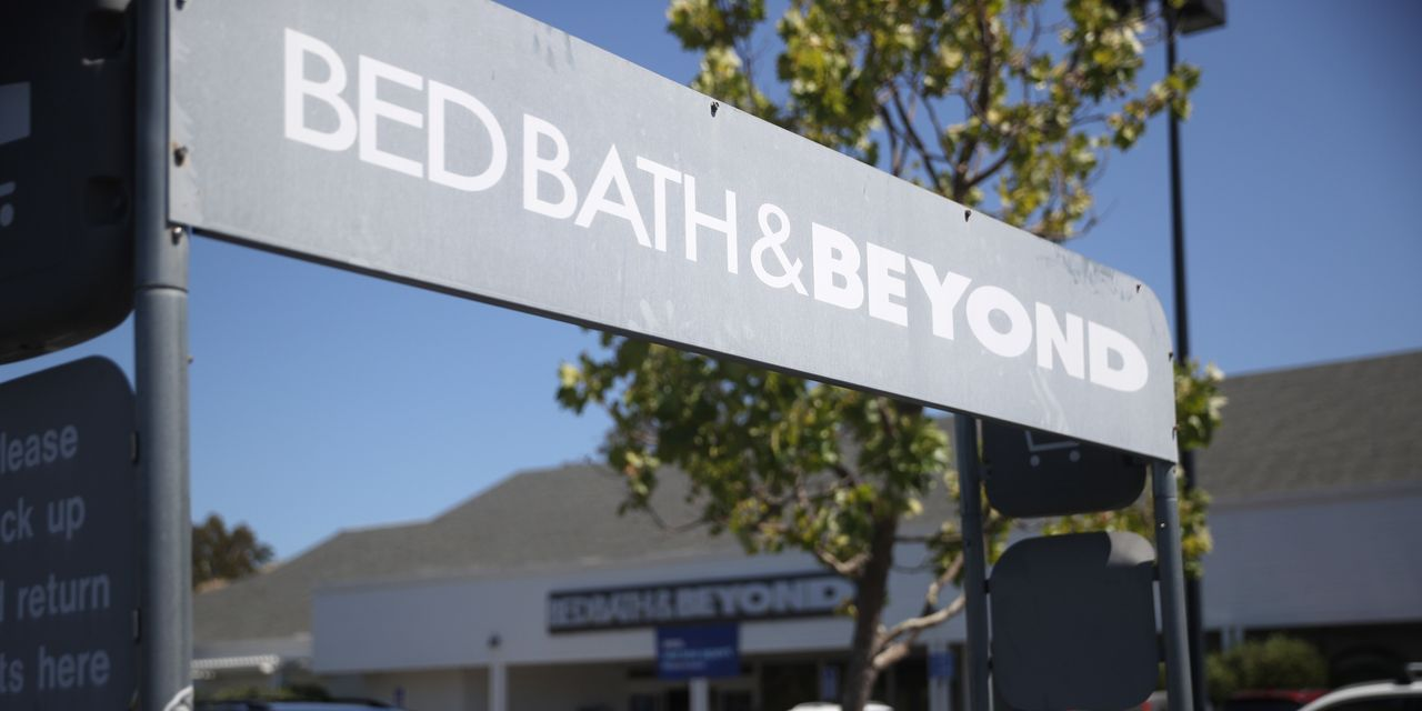 Bed Bath & Beyond CEO says the retailer wasn't a 'major beneficiary' of stimulus funds