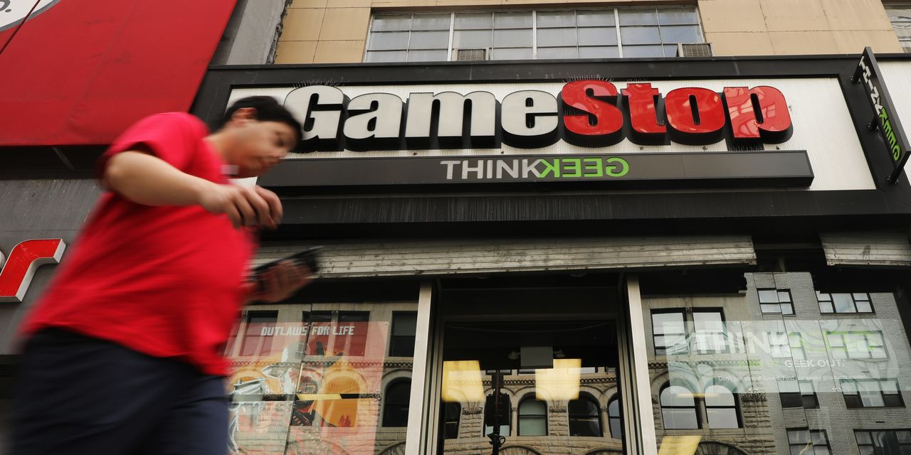 GameStop surges back into the public eye as videogame chain's stock jumps 104%