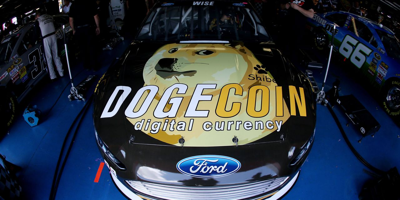 The cryptocurrency dogecoin began as a joke, and now it's worth more than Ford