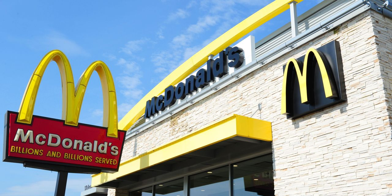 McDonald's riding the trend in comfort food to soaring same-store sales results
