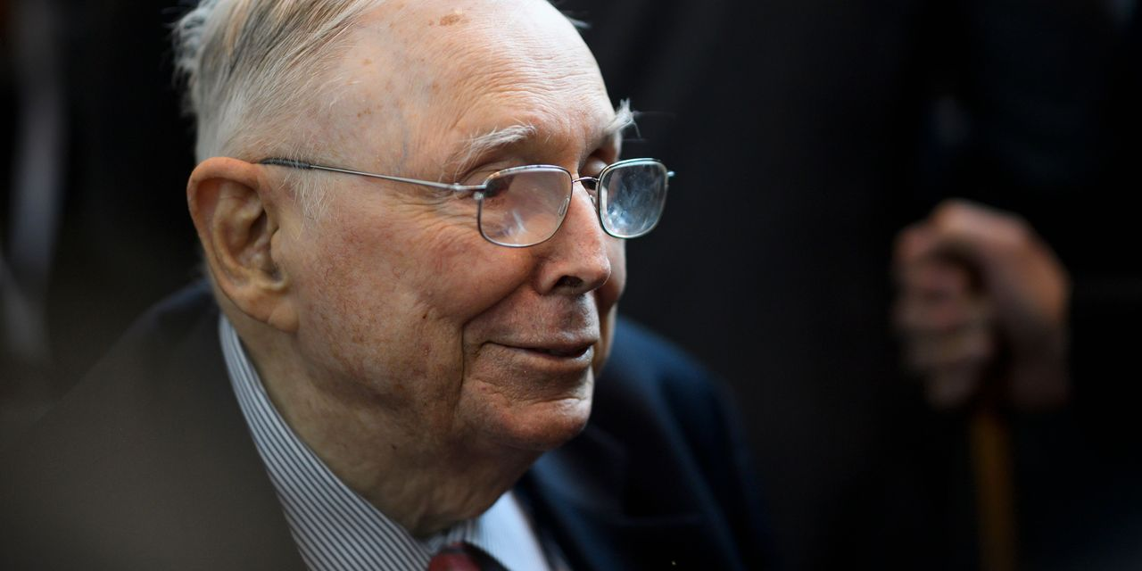 Charlie Munger says it's 'really stupid to have a culture which encourages [so] much gambling in stocks'