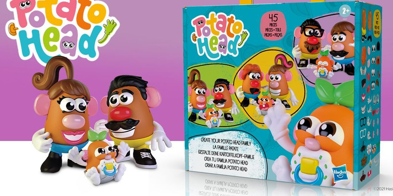 Hasbro is dropping the 'Mr.' on its iconic Potato Head toy, opening a Peppa Pig theme park at LegoLand