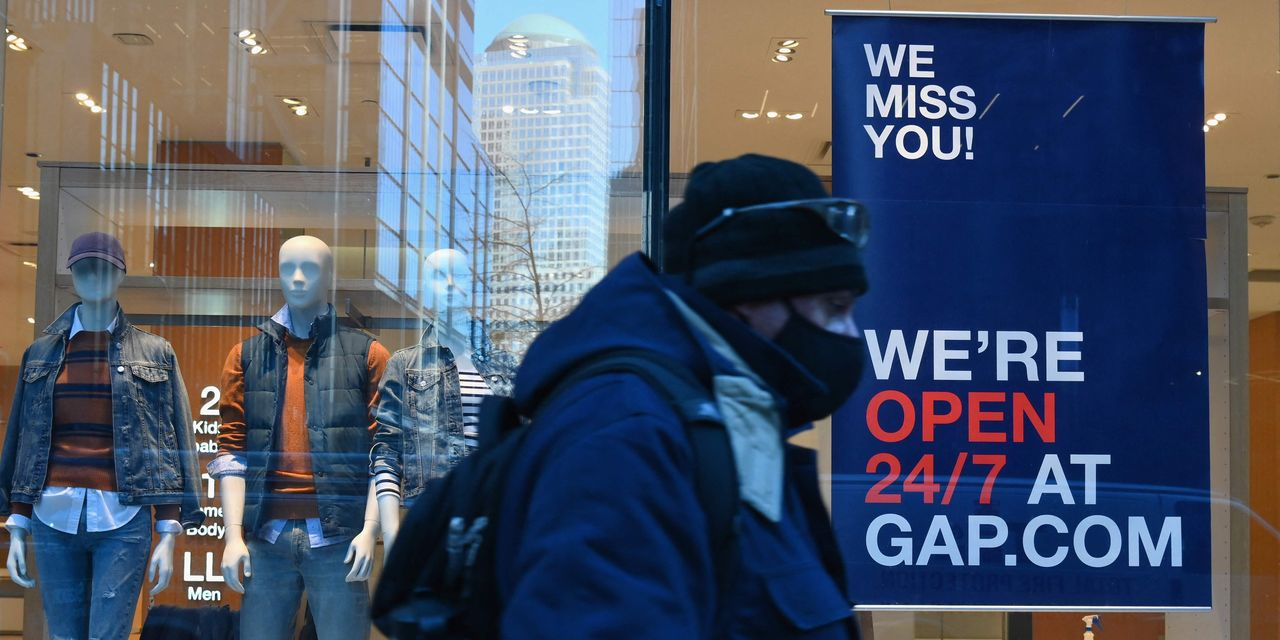 Dow knocks on 34,000 door as retail sales soar 10% in March and unemployment claims hit new pandemic low