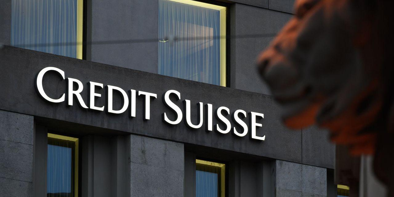 Credit Suisse y otros bancos europeos caen en medio de vínculos con un fondo de cobertura en problemas
