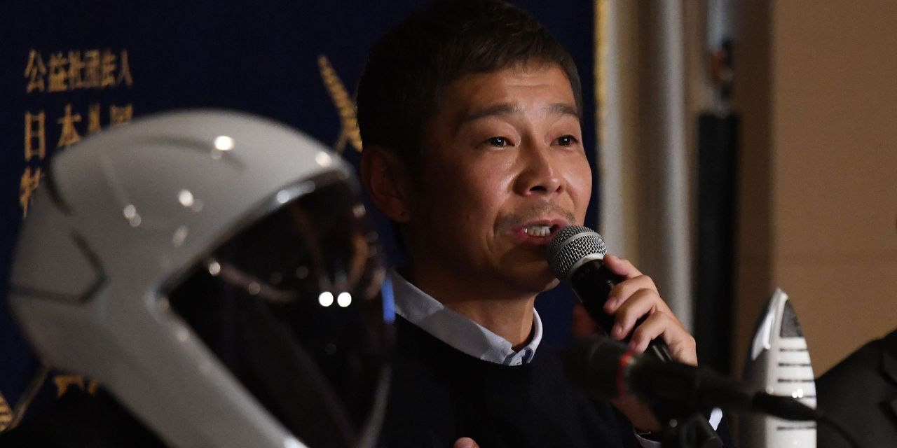 Japanese billionaire seeks 8 volunteers for SpaceX flight around the moon - MarketWatch