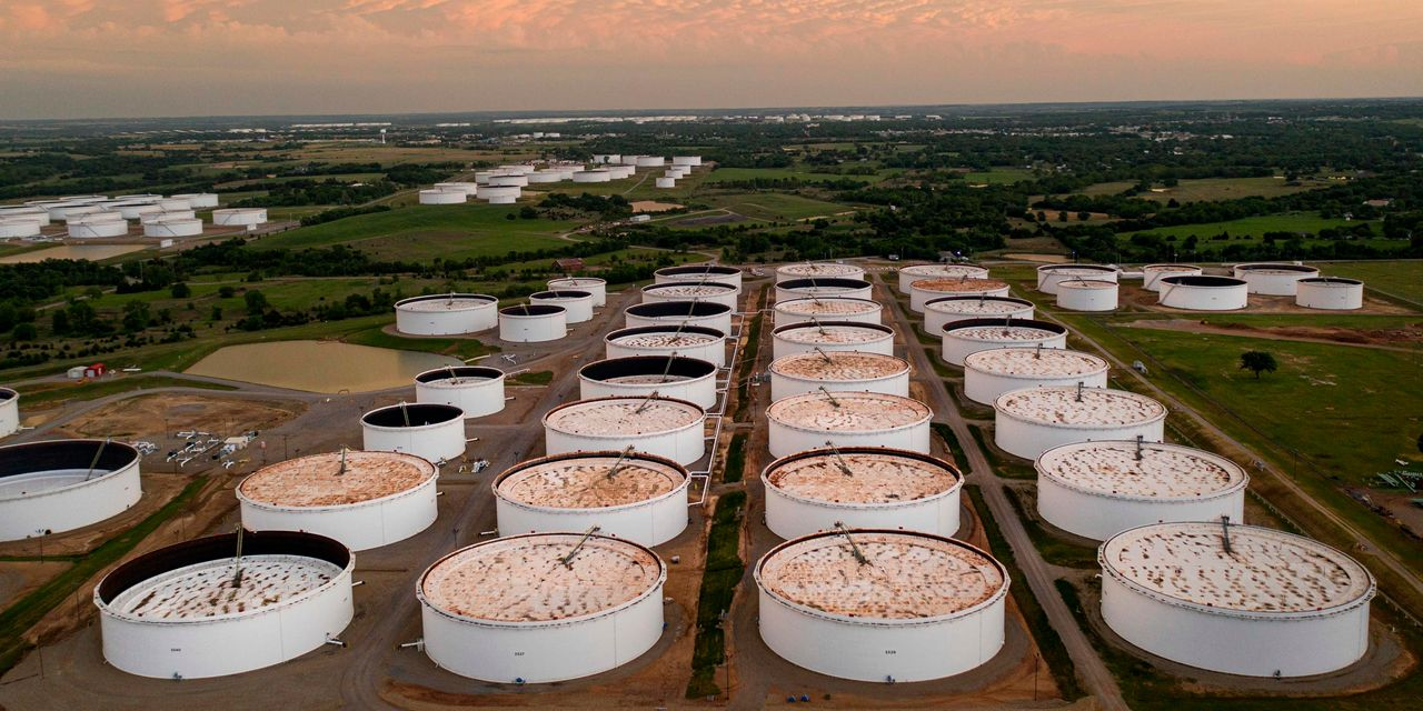 Oil prices lower due to global concerns about COVID, U.S. stocks