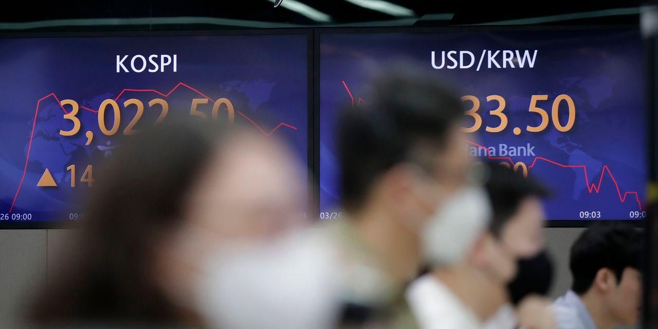 Asian markets keep an eye on Wall Street higher