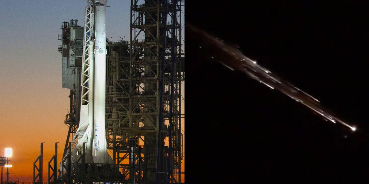 Los escombros del cohete SpaceX Falcon 9 crean un impresionante espectáculo de luces sobre Oregon: míralo