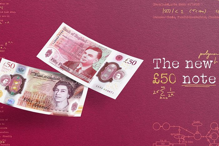 Alan Turing is the new face of the UK £50 note [Video]