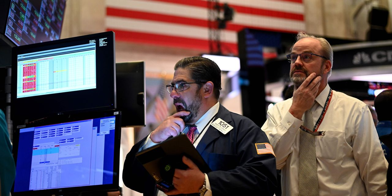 Stock-market sentiment shifts after investor euphoria pushed U.S. equities to record highs