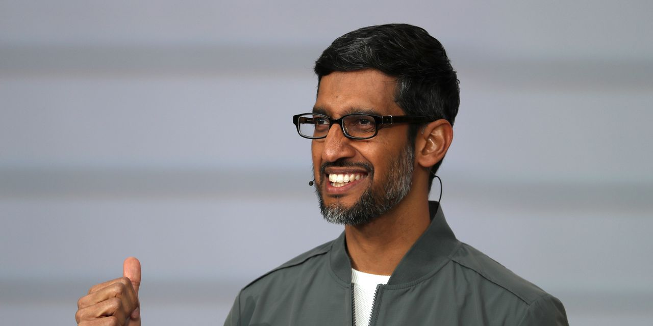 Alphabet CEO Pichai sells more stock as prices rally to a record